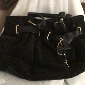 Juicy couture velvet purse
